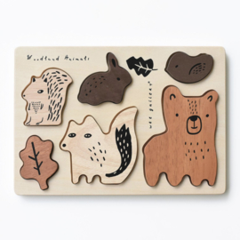 Wee Gallery | Houten Puzzel Woodland Animals