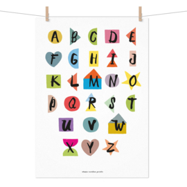 Studio Rainbow Prints - A3 poster ABC