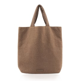 Monk & Anna | Baya Shopper Teddy - Cacao