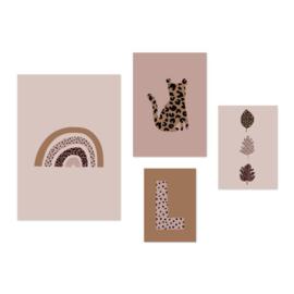 VanPauline | Poster Set Regenboog