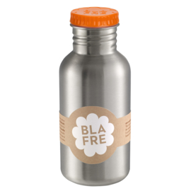 Blafre Drinkfles RVS 500 ml (oranje dop)