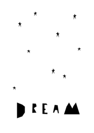 Ingrid Petrie Design - Dream print (A4)