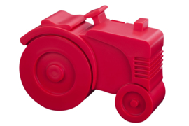 Blafre Lunchtrommel Tractor (rood)