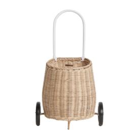 Olli Ella Luggy Basket Boodschappenwagen - Straw