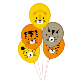 My Little Day ballonnen Wilde Katten (5 stuks)