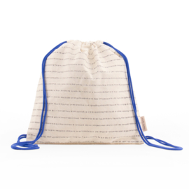 Sticky Lemon Drawstringbag (ink blue)