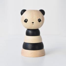 Wee Gallery | Houten Stapeltoren - Panda