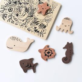 Wee Gallery | Houten Puzzel Ocean Animals