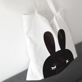BoPoMoFo | Shopper Bunnyear (wit)