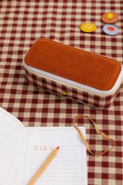 Sticky Lemon   Pencil Box Special Edition Gingham - Grape