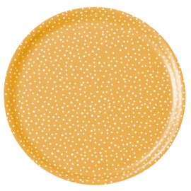Nämä dienblad Lumi Snow Ø 35 cm (yellow)