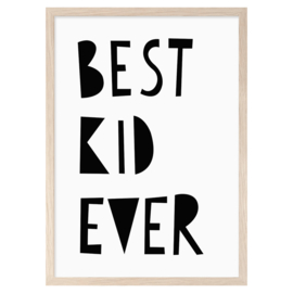 Mini Learners – Poster Best Kid Ever (A3)