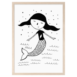 Mini Learners - Poster Mermaid (A3)