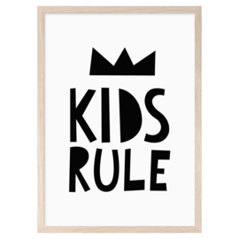 Mini Learners - Poster Kids Rule (A3)