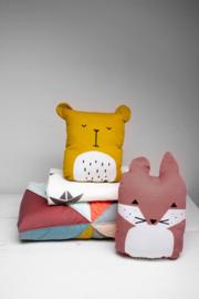 Fabelab kussen/knuffel Friendly Fox