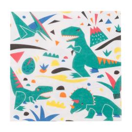 My Little Day servetten Dinosaurus (20 stuks)