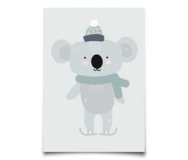 Eef Lillemor kerstkaart Winter Koala