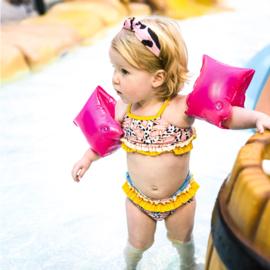 SWIM ESSENTIALS | Zwembandjes Neon Pink 0-2 jaar