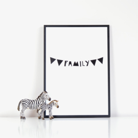 Ingrid Petrie Design - Family print (A4)