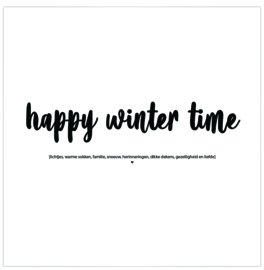 Label-R | Magneet Happy Winter Time!