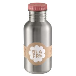 Blafre Drinkfles RVS 500 ml (roze)