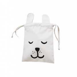 Tellkiddo Small Fabric Bag Bunny