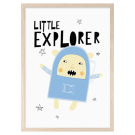 Mini Learners – Poster Little Explorer (A3)