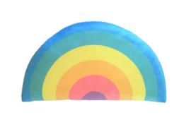 Kids Boetiek kussen Regenboog (pastel)