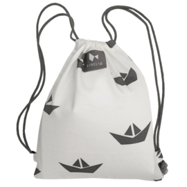 Fabelab String bag Ship White