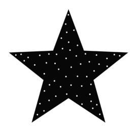 Label-R | Ster Stip Zwart