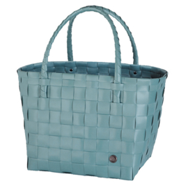 Handed By Shopper Paris Teal Blue