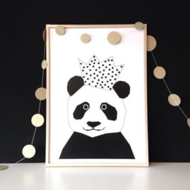 Ingrid Petrie Design - Party Panda print (A3)