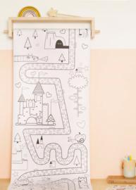 Olli Ella | 8 meter kleurplaat Playpa - Fairytale