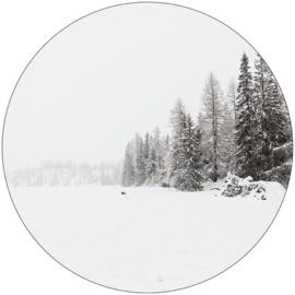Label-R | Muurcirkel Snow