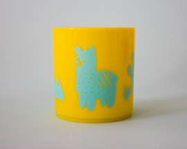 Little Mr. M & Friends | Drinkbeker Llama Llummy (aqua)