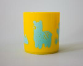 Little Mr. M & Friends | Drinkbeker Llama Llummy (aqua)