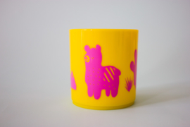 Little Mr. M & Friends | Drinkbeker Llama Llummy (pink)