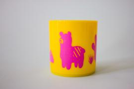 Little Mr. M & Friends | Drinkbeker Llama Llummy (pink)