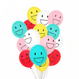 My Little Day Ballonnen Happy Faces (per stuk)