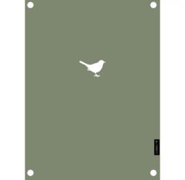 Label-R | Tuinposter Vogeltje (olijfgroen)