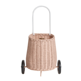 Olli Ella Luggy Basket Boodschappenwagen - Rose