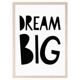 Mini Learners – Poster Dream Big (A3)