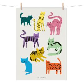 Studio Rainbow Prints - A3 poster Poezen