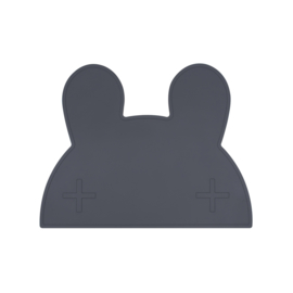 We Might Be Tiny   Placemat Bunny (charcoal / donkergrijs)