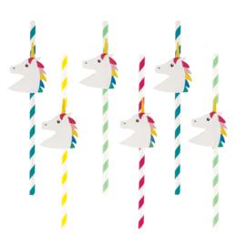 My Little Day rietjes Unicorn/Eenhoorn (12 stuks)
