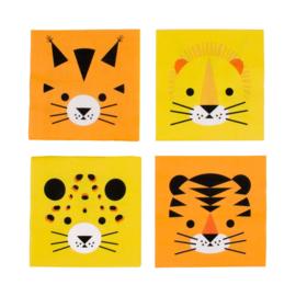 My Little Day servetten Wilde Katten (20 stuks)