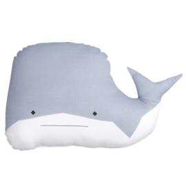 Fabelab | Knuffel/kussen Witty Whale