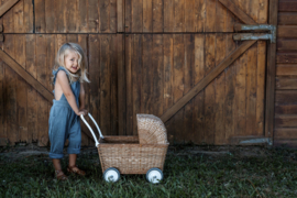 Olli Ella Strolley poppenwagen én boodschappenwagen - Naturel