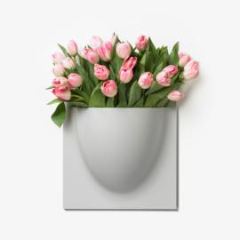 VertiPlants - Trendy plantenbak (grijs)