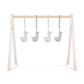 Jollein | Babygym Speeltjes Lama (4 stuks)